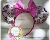 "Darling Custom Handmade ""I'm Going to Disneyland"" Mouse Ears"