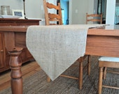 Burlap Table Runner with Angled Ends Pick Your Color and Size Rustic Chic Home Decor Pointed End Rustic Table Runner