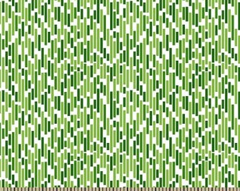 06317 -  Springs Creative Products Quilting Basics Dash in Green - 1 yard