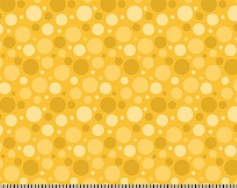 06328 -  Springs Creative Products Quilting Basics Dots in Golden color - 1 yard