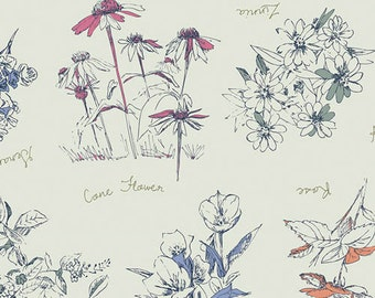 Sketchbook - Botanical Innocence by Sharon Holland from Art Gallery Fabrics
