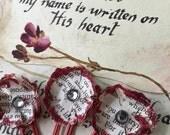 Old World Charm Glitter Planner/Journalling Clips