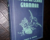1960 Laugh & Learn Grammar Book by Irwin H. Braun