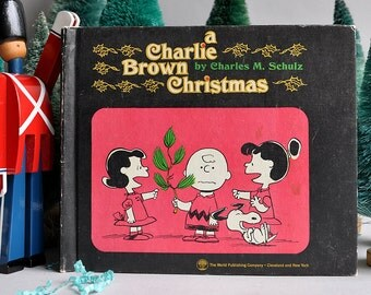 A Charlie Brown Christmas Book - 1965 1st Edition Hardcover