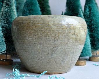 Zanesville Stoneage Modern Pottery Planters - Set of 2
