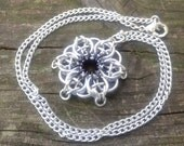 Celtic Star Pendant - Black