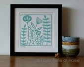 Reduced - Meadow handcut papercut by Loula Belle at Home