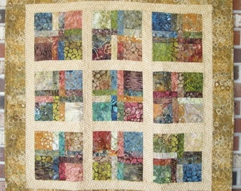 "Baby's First Quilt ""Prairie Flowers"""