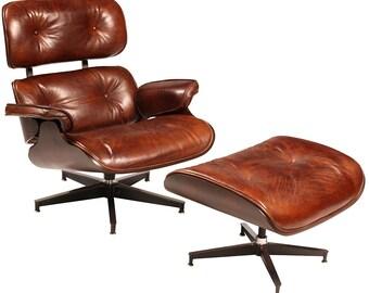 Beaumont Mid-Century Chair & Ottoman