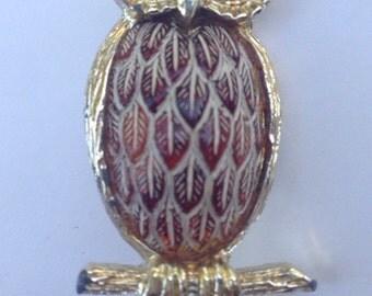 Wise OWL brooch
