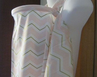 nursing cover breastfeeding cover up apron like  hooter hiders newest print chevy pink white gold