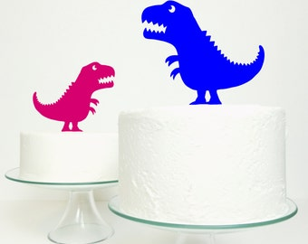 Tyrannosaurus  Rex T-Rex Dinosaur Cake Topper