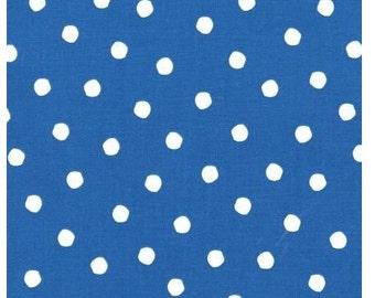 Water Blue Dr Seuss Dots from Robert Kaufman's Celebrate Seuss 2 Collection