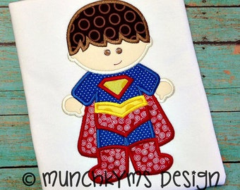 SUPERMAN Boy's Shirt - Birthday Shirt - Superhero Shirt - Superhero party theme - Monogrammed shirt - SUPERMAN Themed shirt - Disney