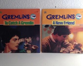 Vintage 80s Book Bundle - 2 Gremlins Books - 1984