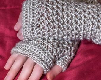 Bamboo Silk Fingerless Gloves