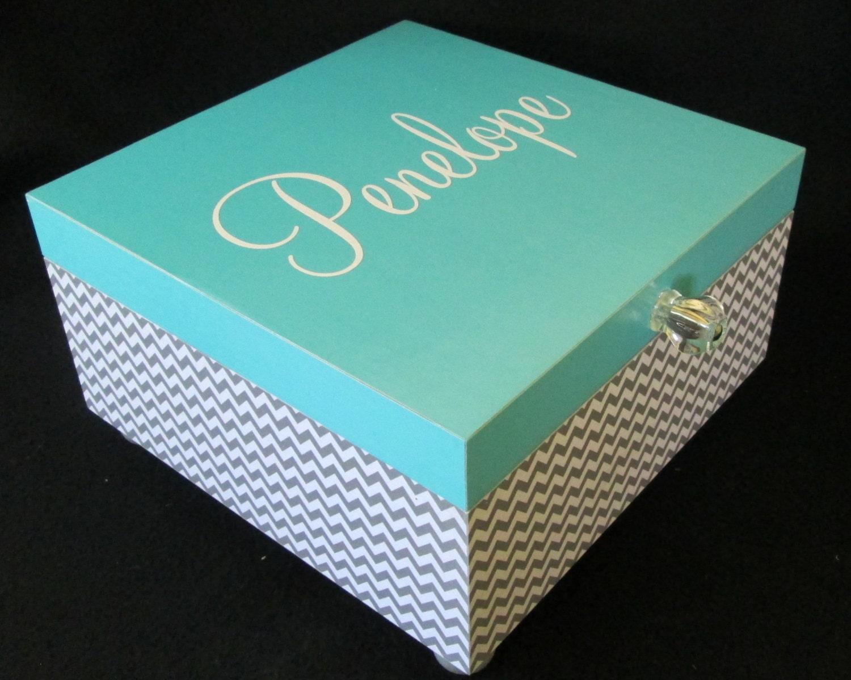 Large Memory Box Keepsake Box Large Keepsake Box By Msw2011