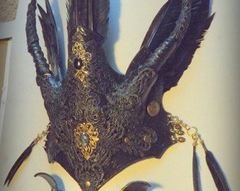Witches Headress & Collar