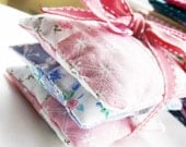 Lavender Sachets For Your Drawers, Set of Three, Small Gift, Moth Deterent, Aids Restful Sleep
