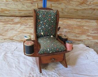 Vntg Sewing Caddy Handmade