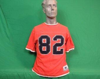 GridIron Football #82 Short Sleeve Jersey Shirt - YOUTH Large 10/12 - #725