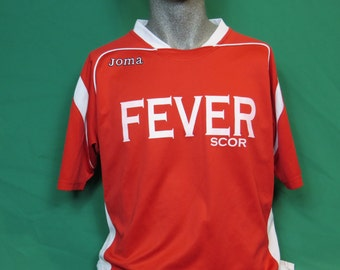 Soccer adult red shirt  #658