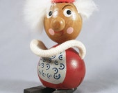 Hans Bolling era Wooden Scandinavian figurine