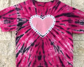 Tie Dye Heart, Child Small
