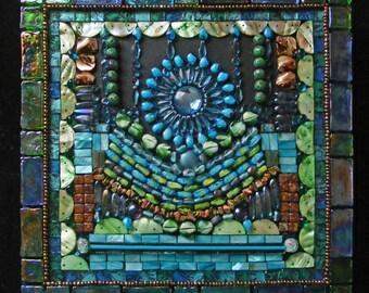 Mosaic/Construction: Raining Star