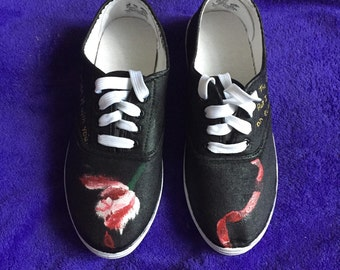 Twilight inspired shoes