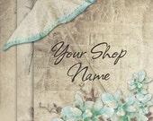 Custom Etsy Shop Banner Set (Pre-made) - Parasol