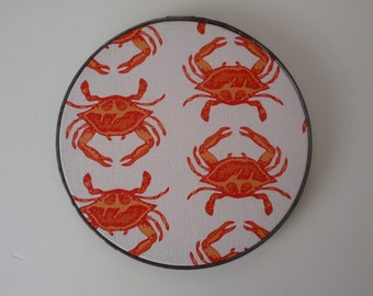 New Shop Section Thrift & After Wall Art: Maryland Crab Coastal Nautical