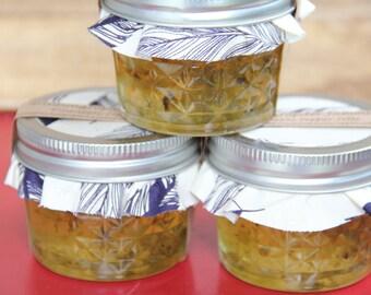 Homemade Pineapple Pepper Jelly 4oz jar