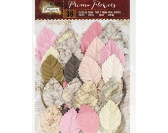 Prima Marketing Debutante Paper Leaves - 36 piece - #580698