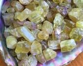 Yellow Apatite small crystal