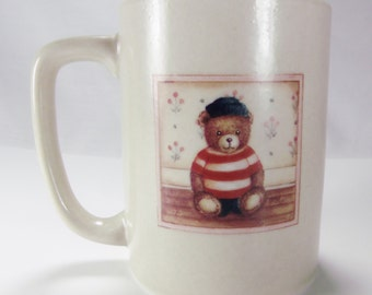 Otagiri Japan Bear Mug Vintage Coffee Tea Mug Cup