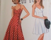 New Look 6053 Sewing Pattern for Lovely Strappy Sundress MultiSize 6 to 16 Uncut Factory Folded