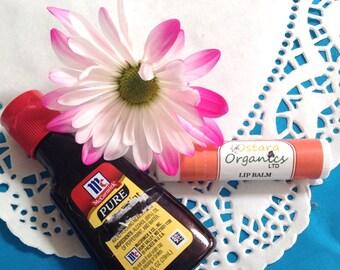 Vanilla Lip  Balm, Vanilla Chapstick, Vanilla, Organic Lip Balm, Organic Chapstick, Natural Lip Balm, Natural Chapstick, Lip Protection