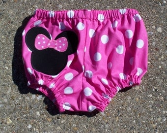 Minnie mouse birthday bloomers