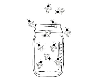 Mason Jar Image Pink Lemonade Digital Clipart PNG JPG