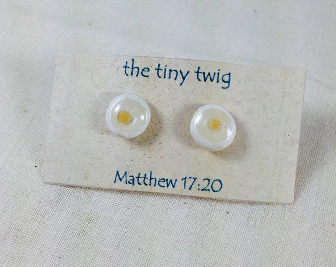 Mustard Seed Faith Post Earrings Jewelry Matthew 17:20