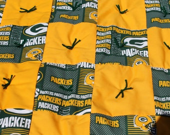 Green Bay Packers Baby Quilt
