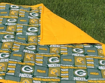 NFL Green Bay Packers Baby Baby Quilt.