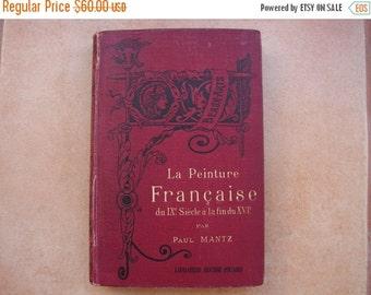 ON SALE La Peinture Francaise,Paul Mantz du IX siecle.1897 1st.edition.French book about paintings with 123 gravures