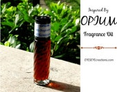 Fragrance Body Oil Inspired by OPIUM - 1/3, 1/2, or 1 ounce (oz)