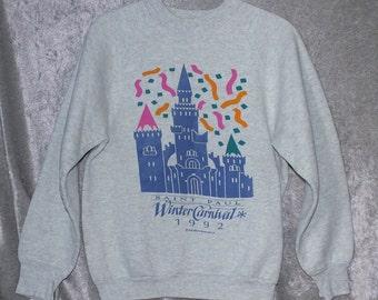 Gray Heather 1992 St. Paul Winter Carnival Sweatshirt