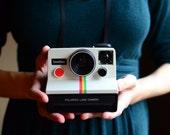 "Vintage 1970's ""Instagram"" Polaroid OneStep Land Camera Rainbow -- FREE SHIPPING"