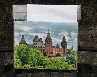 Schloss Johannisburg Set of 6 Blank Notecards
