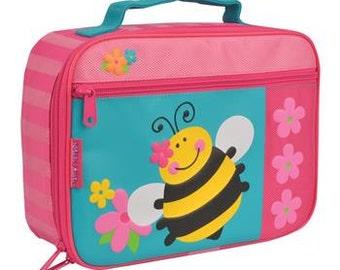 Personalized Stephen Joseph Bee Classic Lunchbox