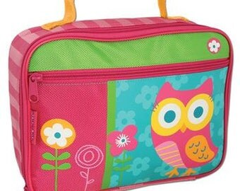 Personalized Stephen Joseph Owl Classic Lunchbox